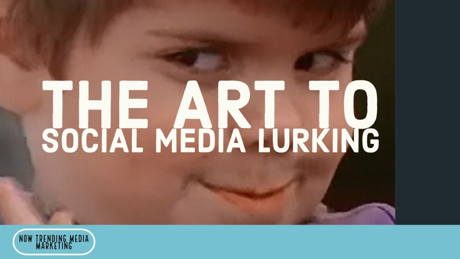 The Art of Social Media Lurking